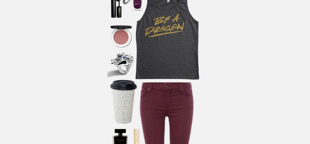 Geek Chic Outfit Inspiration: Dragon Queen
