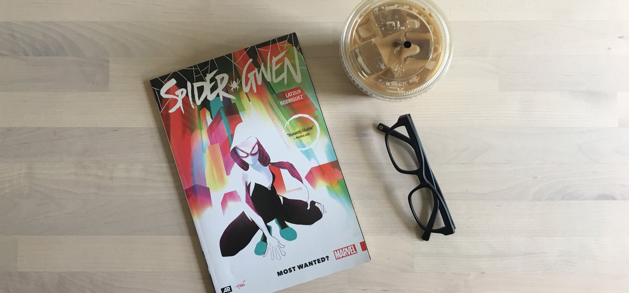 Coffee Break: Spider Gwen Most Wanted