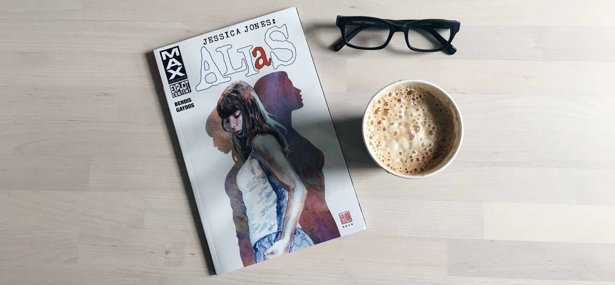 Coffee Break: Jessica Jones Alias