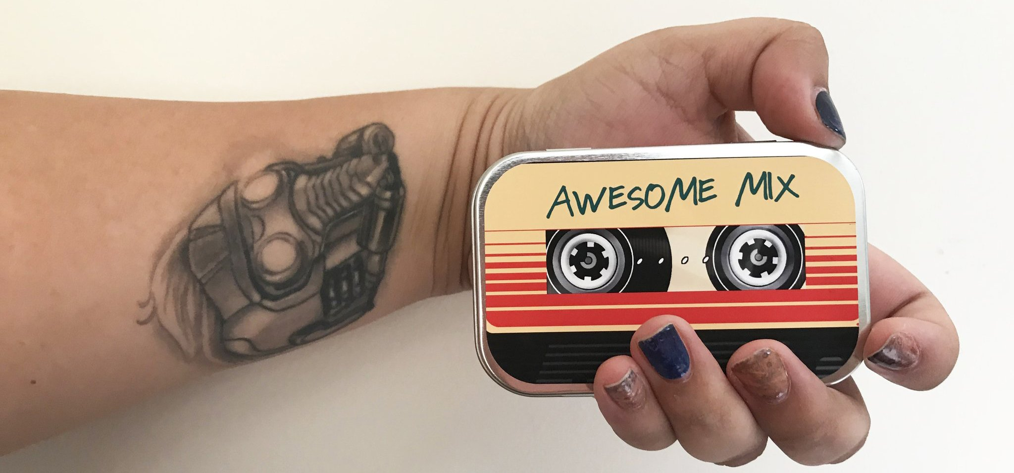 Geek Fashion Fix | Cosmetic Corner: Awesome Mix Collector's Tin