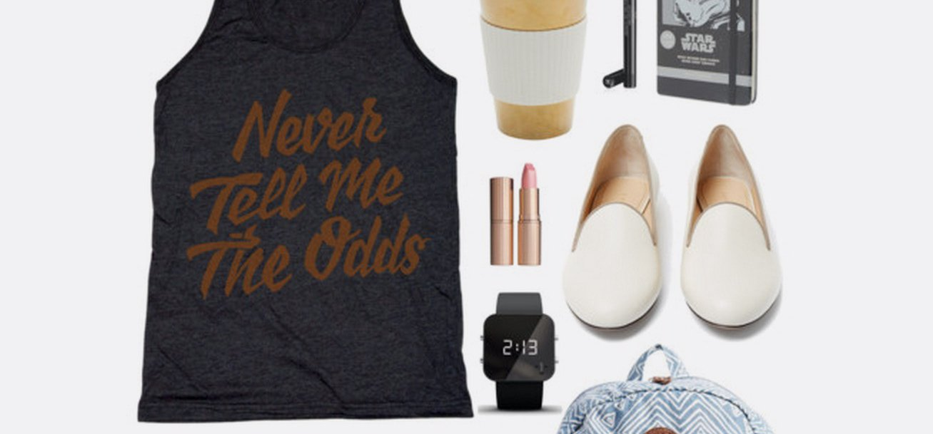 Geek Chic Outfit Inspiration | Never Tell Me The Odds Tank