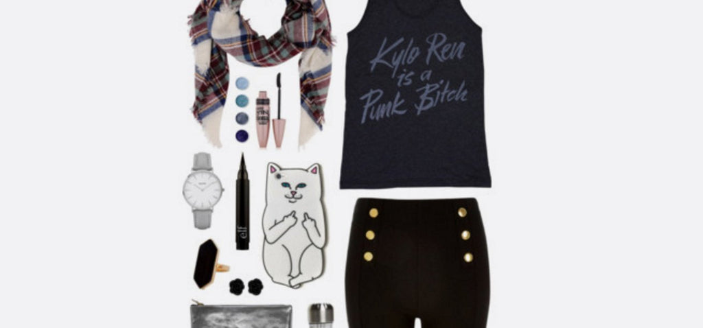 Geek Chic Outfit Inspiration | Kylo Ren