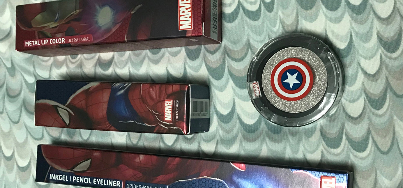 Geek Fashion Fix | Cosmetic Corner: The Face Shop x Marvel