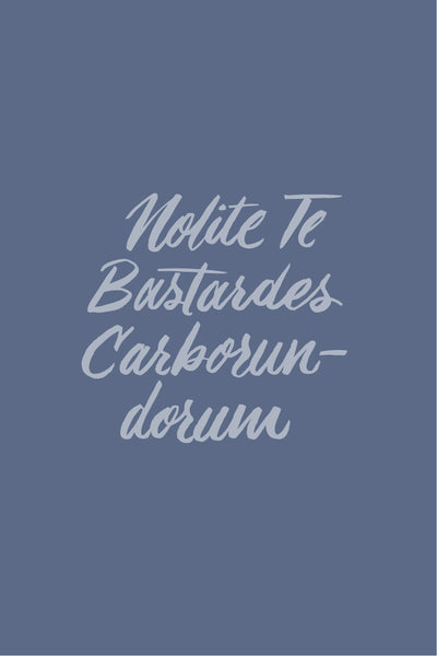 Nolite Te Bastardes Carborundorum | Free Phone Background