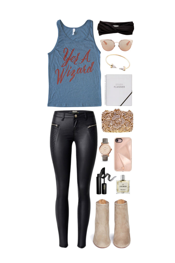 Geek Chic Outfit Inspiration: Brightest Witch of Her Age