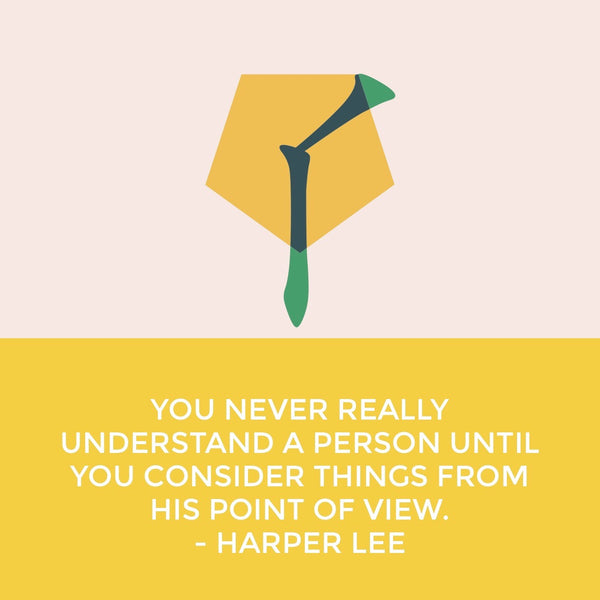 Start your day off right... with Harper Lee
