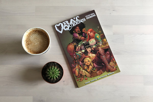 Coffee Break: Rat Queens Vol. 3