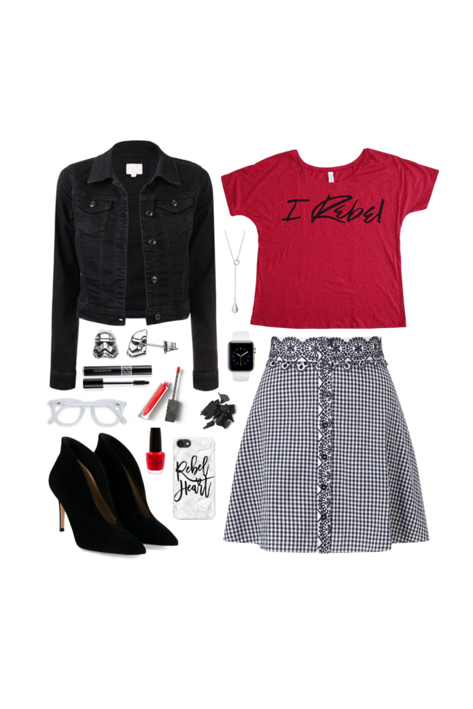 Geek Chic Outfit Inspiration: Classy Rebel