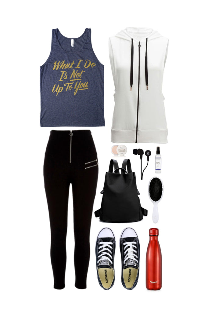 Geek Chic Outfit Inspiration: Not Up To You