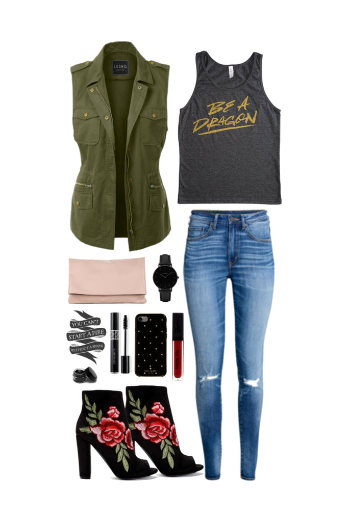 Geek Chic Outfit Inspiration: Fire Breather