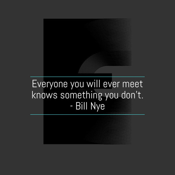 Start your week off right... with Bill Nye