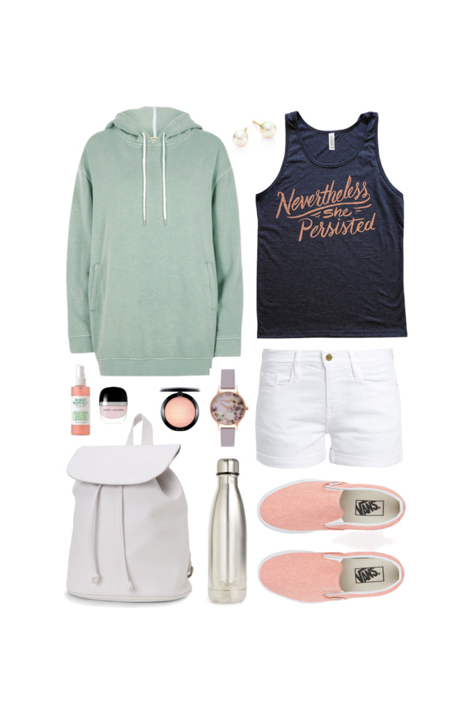 Geek Chic Outfit Inspiration: March On