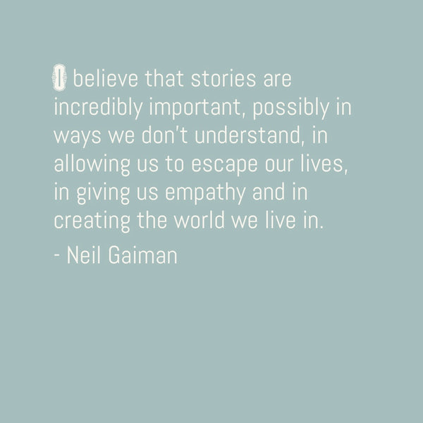 Start your week off right... with Neil Gaiman