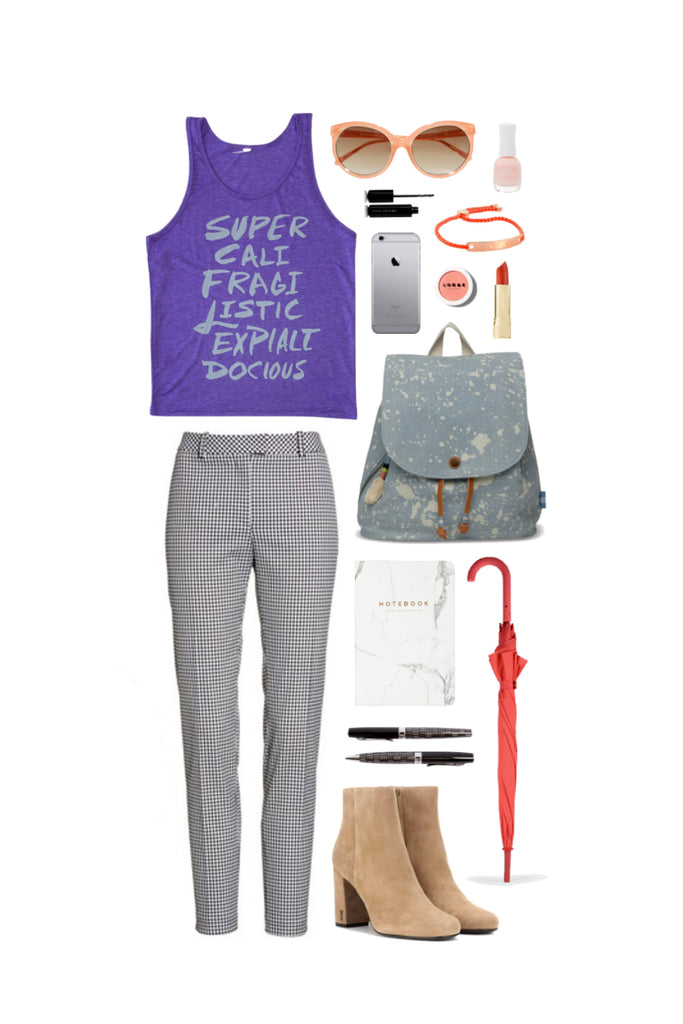 Geek Chic Outfit Inspiration: The Longest Word You Ever Heard