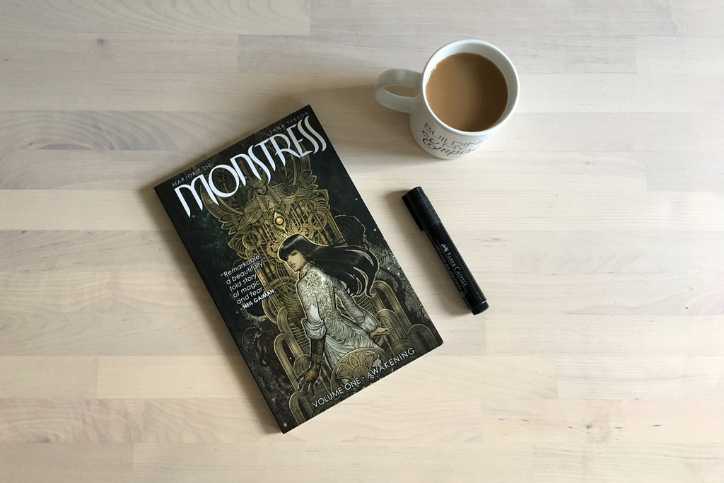 Coffee Break: Monstress Vol. One
