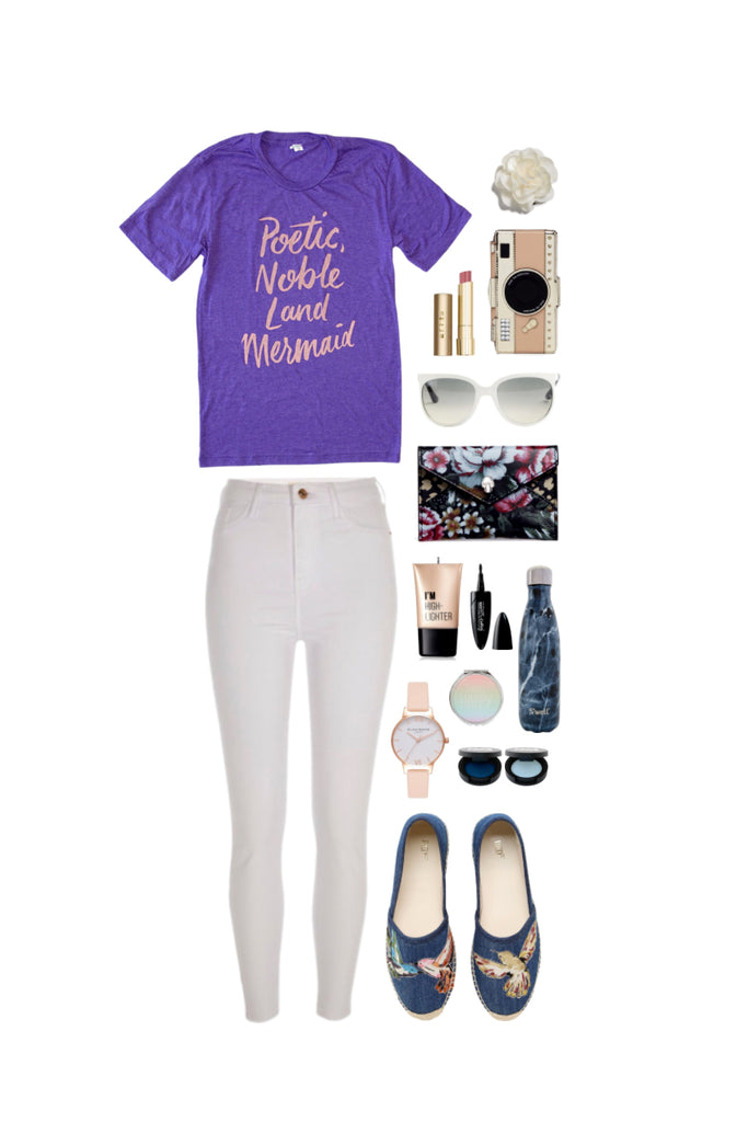 Geek Chic Outfit Inspiration: Land Mermaid