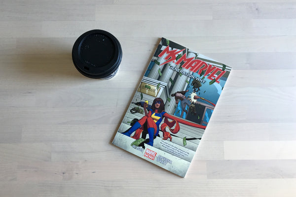 Coffee Break: Ms. Marvel Vol. 2