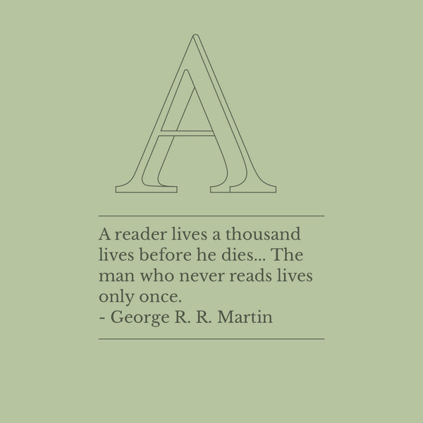 Start your week off right... with George R. R. Martin