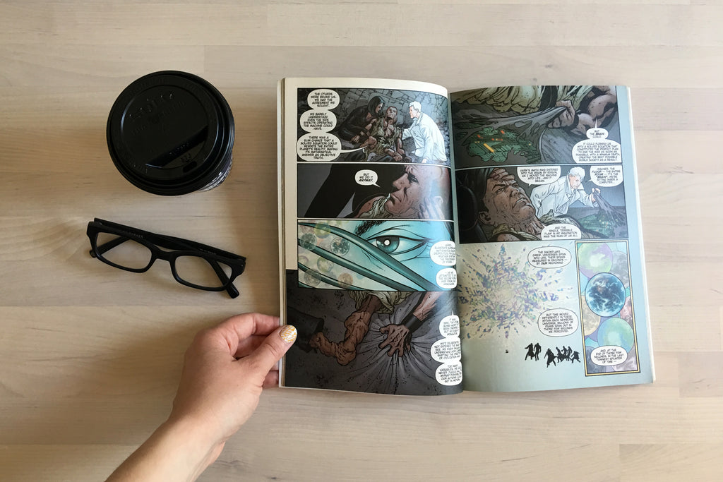 Coffee Break: Planetary Vol. 1