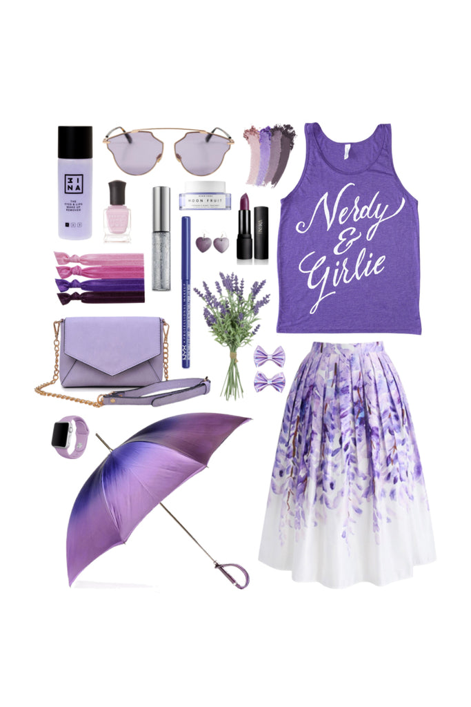 Geek Chic Outfit Inspiration: The Nerdy Girlie