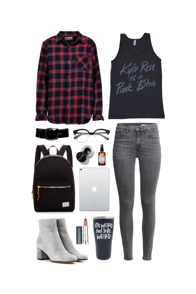 Geek Chic Outfit Inspiration: Crylo Ren