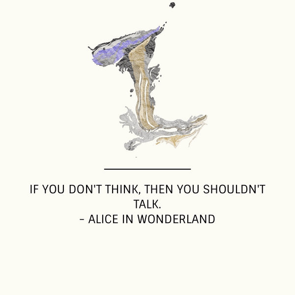 Start your week off right... with Alice in Wonderland