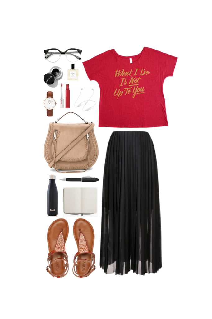 Geek Chic Outfit Inspiration: Late For Class