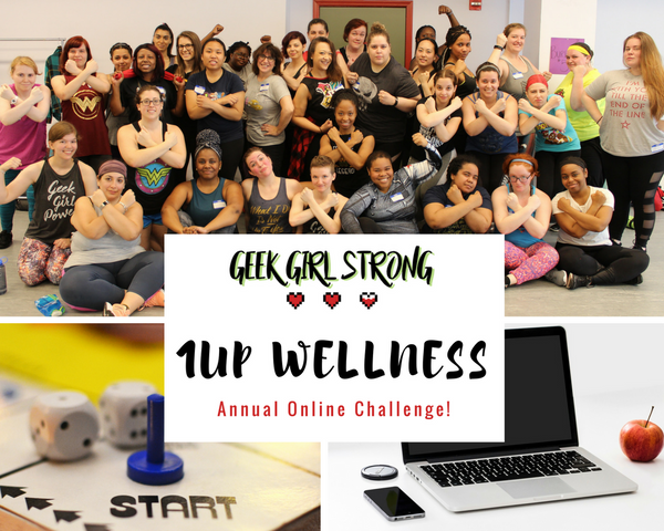 Geek Girl Strong Online Challenge