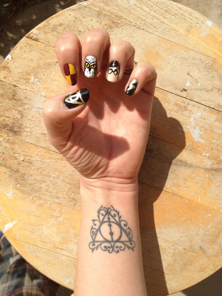 Talk Nerdy To Me Favorite Harry Potter Tattoos Sartorial Geek Check out these harry potter tattoos for some inspiration for your own creation. talk nerdy to me favorite harry potter