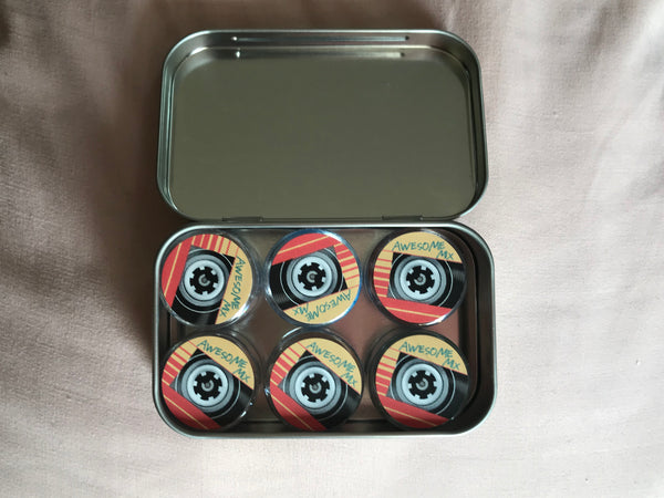 Geek Fashion Fix | Awesome Mix Collector's Tin