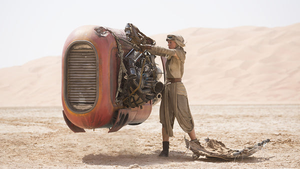 The Force Awakens Rey Outfit: Talk Nerdy to Me