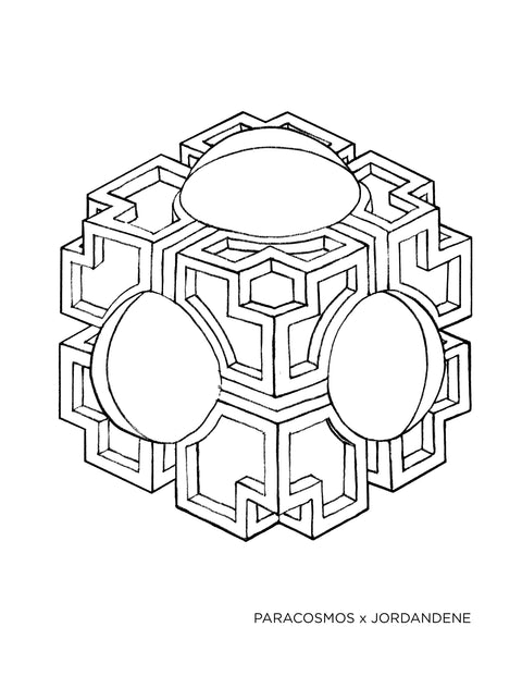 Beeble Box Free Coloring Page