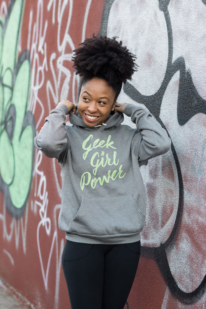 Geek Girl Power Unisex Hoodie