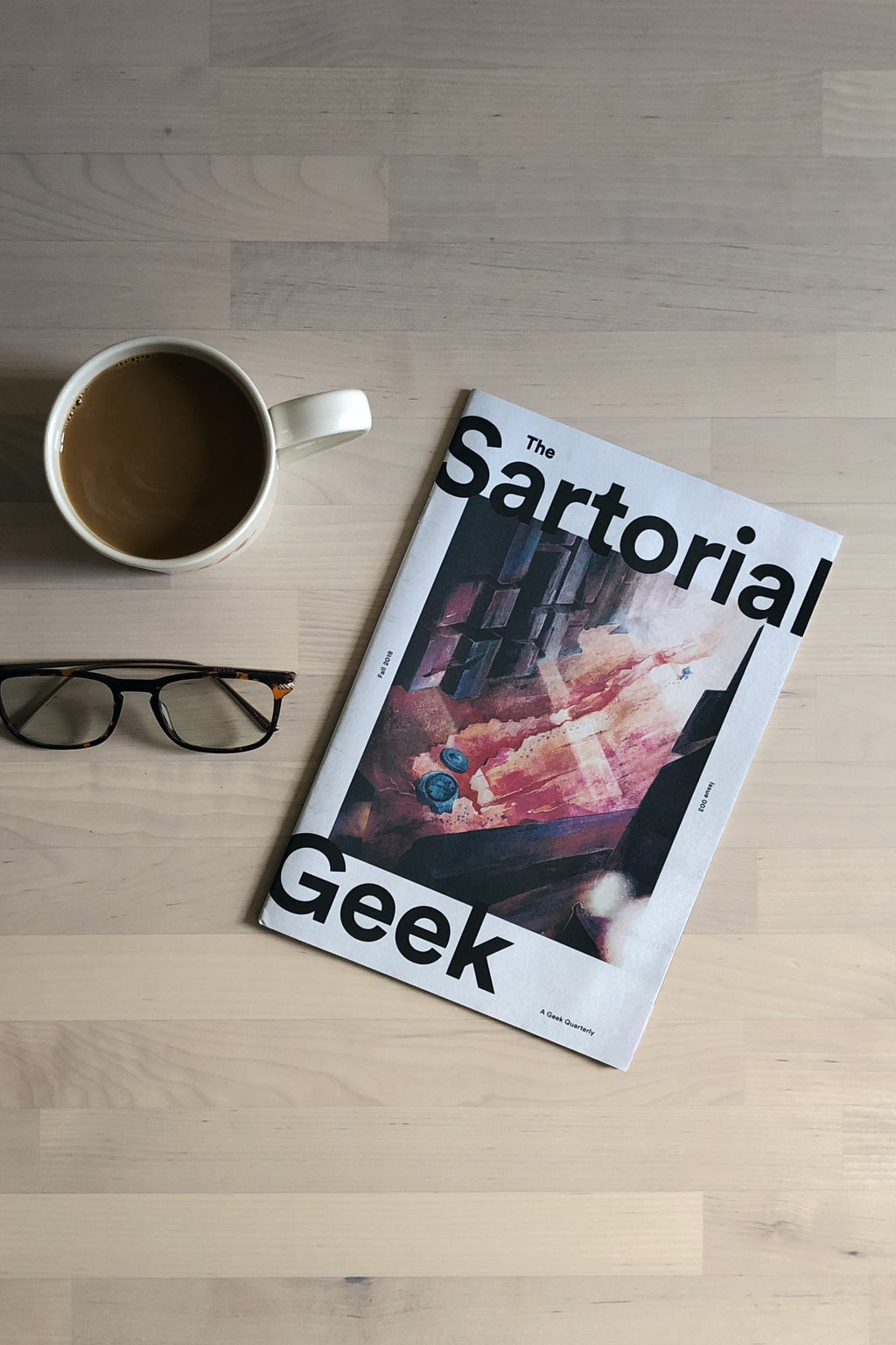 The Sartorial Geek Magazine Subscription