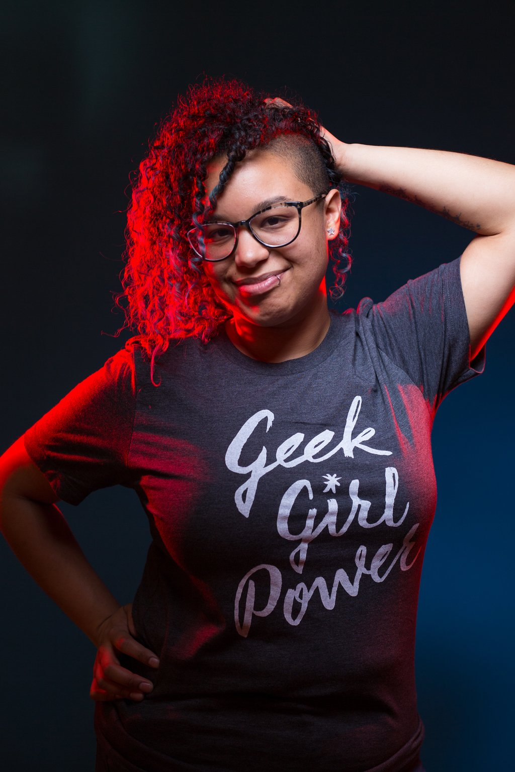 Geek Girl Power Short-Sleeve Unisex T-Shirt
