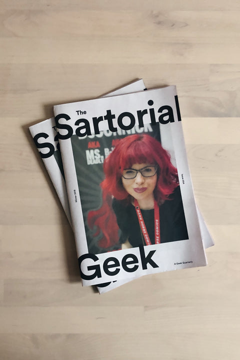 The Sartorial Geek Magazine | Winter 2018 Issue 004