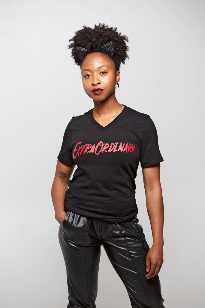 ExtraOrdinary Unisex V-Neck T-Shirt | V.E. Schwab Official Collection