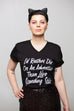 I'd Rather Die on an Adventure Unisex V-Neck T-Shirt | V.E. Schwab Official Collection