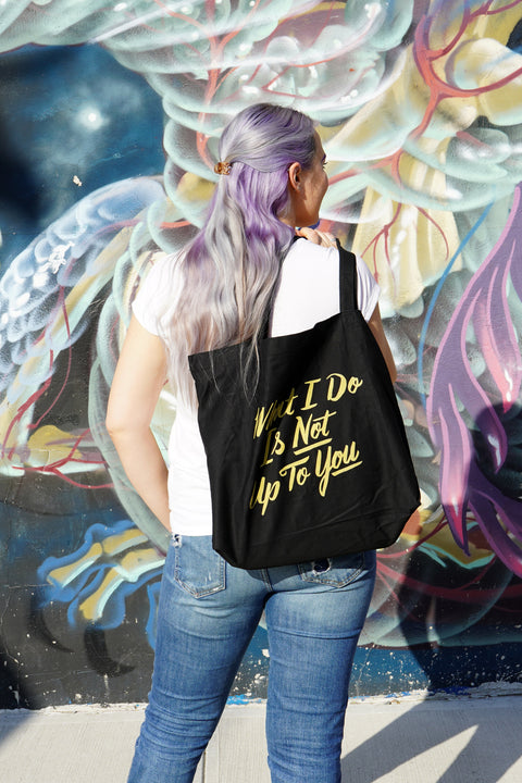 What I Do Large Eco Tote Bag