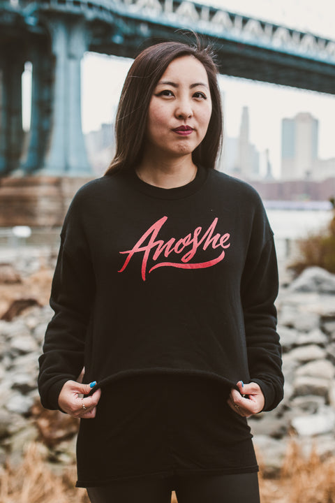 Anoshe Crop Sweatshirt | V. E. Schwab Official