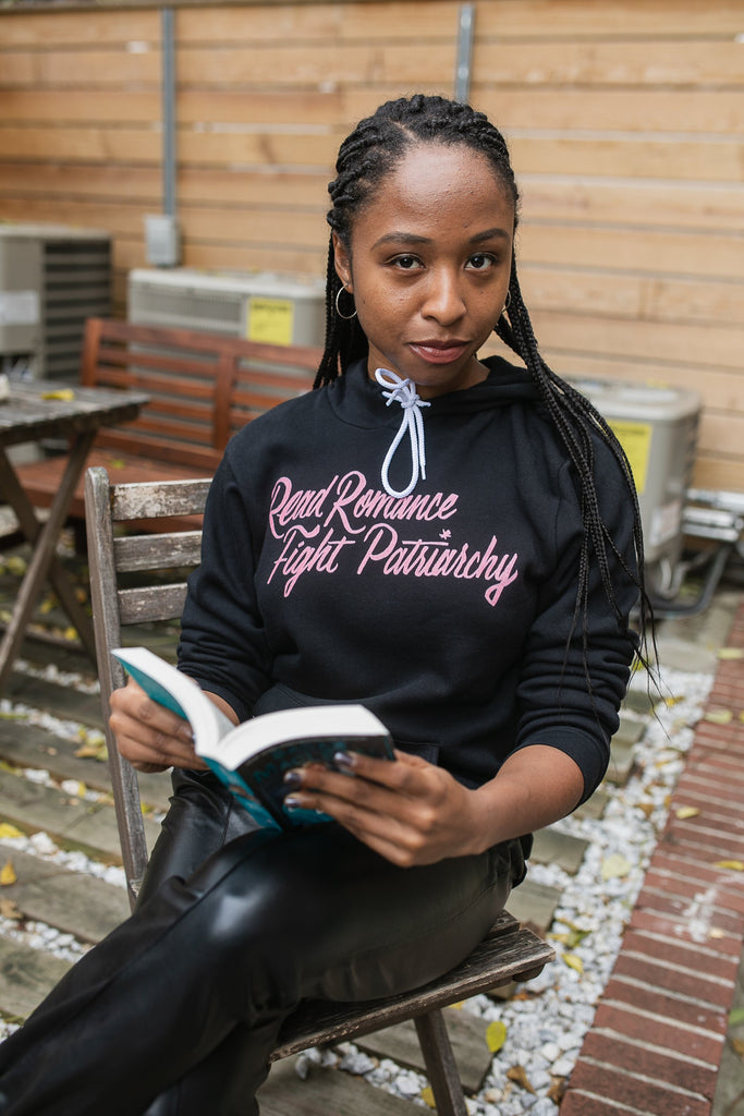 Read Romance, Fight Patriarchy Unisex Hoodie | Sarah MacLean