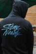 Stay Nerdy Unisex Zip Up Hoodie