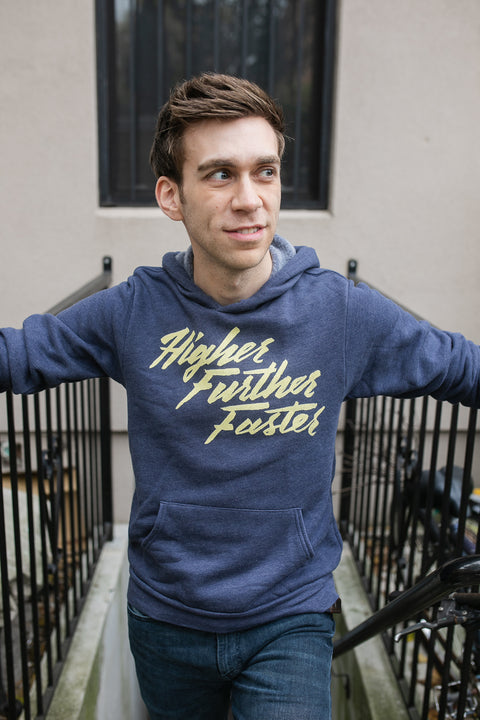 Higher Further Faster Unisex Hoodie