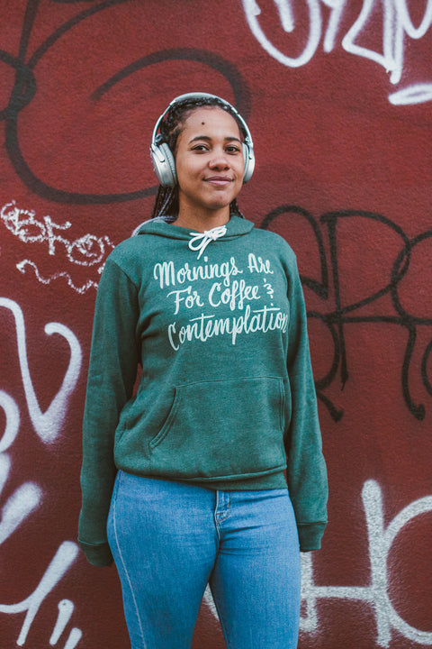 Coffee and Contemplation Unisex Hoodie
