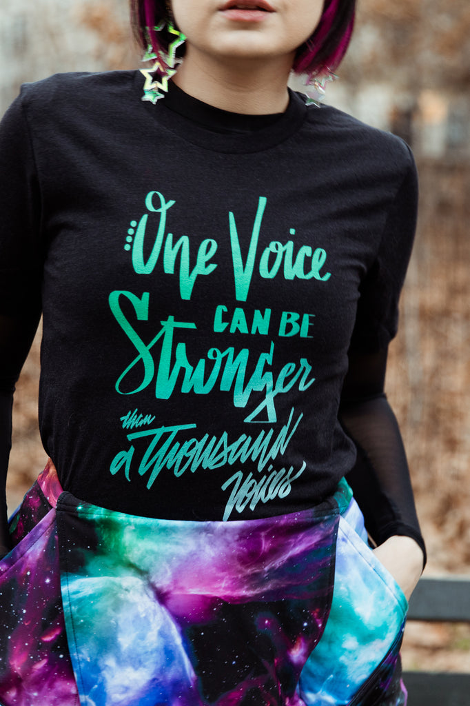Stronger Than a Thousand Voices Unisex T-Shirt