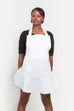 Solid Color Apron | White