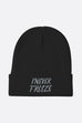 I Never Freeze Black Panther Beanie