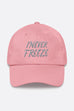 I Never Freeze Black Panther Dad Hat