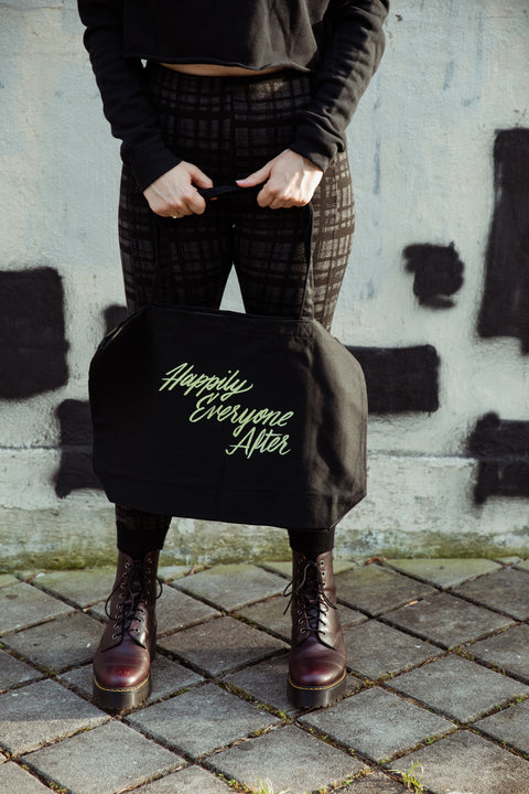 Happily Everyone After Large Eco Tote Bag | Sarah MacLean