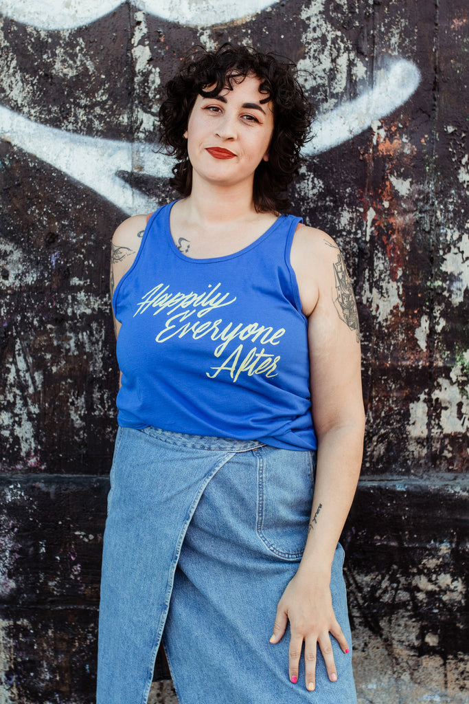 Happily Everyone After Unisex Tank Top | Sarah MacLean